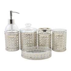 Bathroom Accessory Set of Ornamental Collection