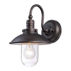 Minka-Lavery 71163-143C 1 Light Wall Mount Edison Oil Rubbed Bronzelights