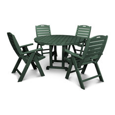 POLYWOOD Nautical 5-Piece Dining Set