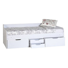 Dante Day Bed, Wood With White Finish