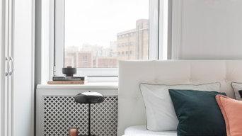 Яркая и просторная квартира для семьи с двумя детьми