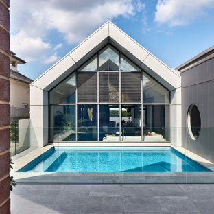 This is an example of a contemporary pool in Sydney.