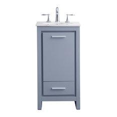 Most Popular 18 Inch Bathroom Vanities For 2021 Houzz