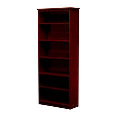 Lexington Bookcase, 12x30x72, Antique Cherry