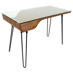 Midcentury Desks And Hutches by LumiSource