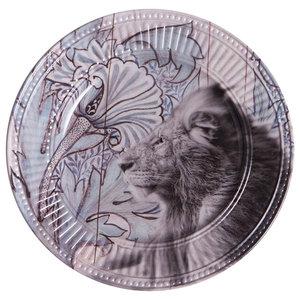 Jungle Lion Side Plates, Set of 2