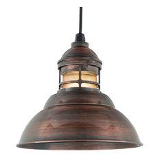 Baselite - Vapor Jar, Oil Rubbed Bronze Powder Coat - Outdoor Hanging Lights