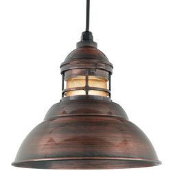 Industrial Outdoor Hanging Lights by BASELITE CORPORATION