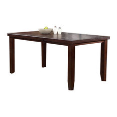 Crown Mark Bardstown Counter Height Table Espresso