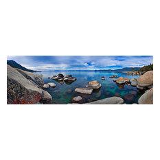 "Tahoe Blue, Canvas Giclee, 60""x20"""