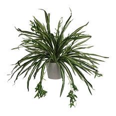 Faux Spider Plant Arrangement