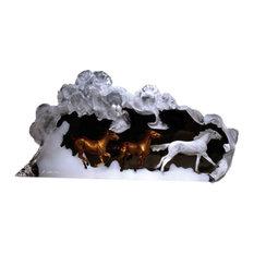 Prairie Storm Horse Sculpture