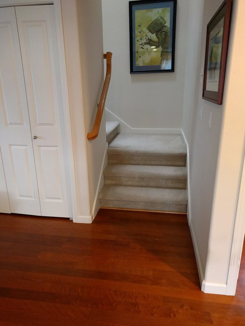 Match Hardwood Floors On Stairs To Existing Floor