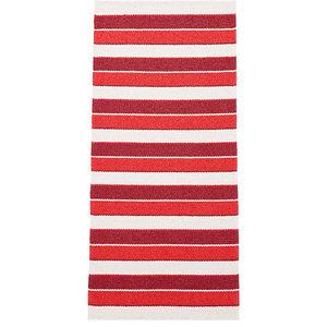 Tore Vinyl Floor Cloth, Red, 150x200 cm