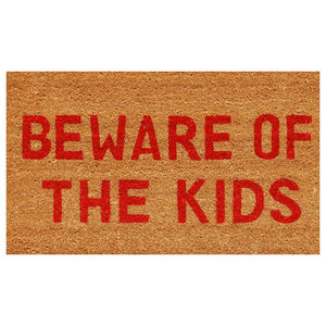Beware of the Kids Doormat