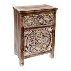 Burkina Home Decor - Decor Nightstand - Nightstands And Bedside Tables