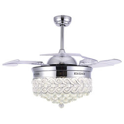 Contemporary Ceiling Fans by Bella Depot Inc