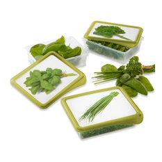- Лотки для хранения зелени Tchibo, 3 шт. - Пищевые контейнеры