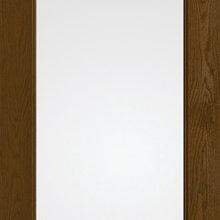 Flush Glazed Door Construction
