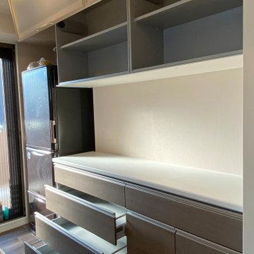 食器棚 収納内部