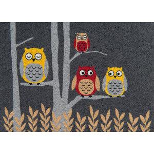 Clean Keeper Grey Owls Doormat