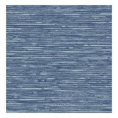 Bellport Denim Wooden Slat Wallpaper Bolt