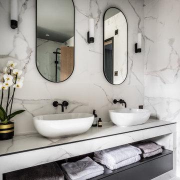 Industrial Chic Interior - Master Bathroom