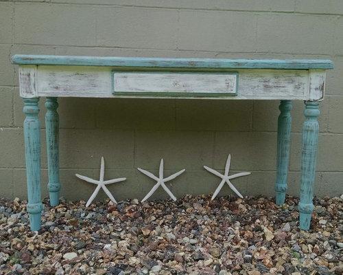 coastal living sofa tablebeach chic sofa tablebeach cottage sofa table console beach shabby chic furniture
