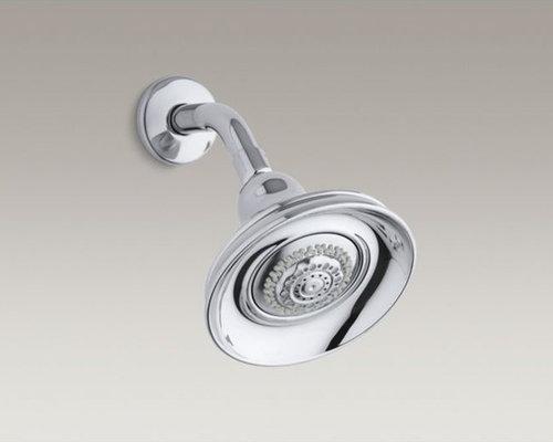 Bancroft(R) 2.5 gpm multifunction wall-mount showerhead - Showerheads And Body Sprays