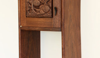 Hand Carved Hanging Cabinet