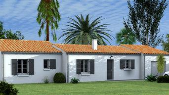 Modélisation 3d et rendu photo-réaliste d'une maison individuelle intérieure ext