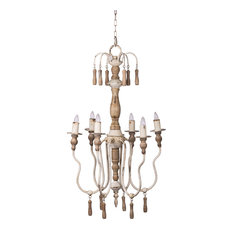 Southen Living French Country 2-Tier Chandelier