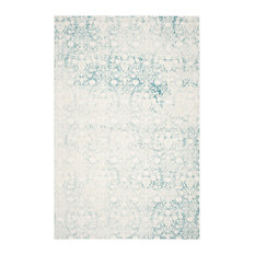 Safavieh Passion Woven Rug, Turquoise/Ivory, 9'x12'