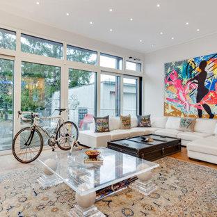 Eklektisches Wohnzimmer in Köln