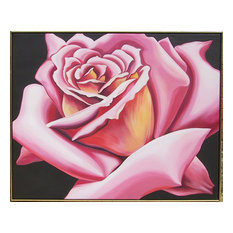 Lowell Blair Nesbitt, Pink Rose, Oil Painting