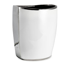 Delancey Chrome Waste Basket