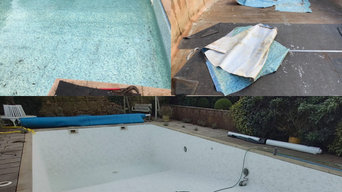 Outdoor swimming pool refurb