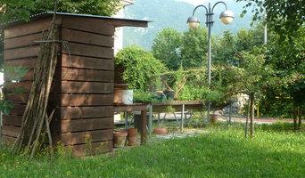 giardino terapeutico alzheimer casa di riposo di Ponte Nelle ALPI
