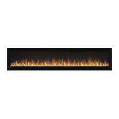 Alluravision Deep Depth Linear Electric Fireplace, 74""