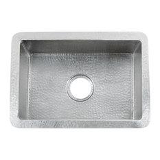 Cocina 21 Copper Kitchen Sink, Brushed Nickel