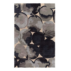 Luxury Rugz - Contemporary Area Rug, Roxanne Collection, Stone, 8'x10' - Area Rugs