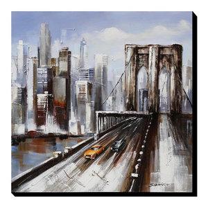 """YCBB"" Acrylic Painting, 100x100 cm"