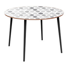 Stella Flare Dining Table - Nordic Clouds