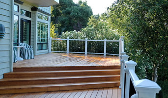 Gorgeous Alamo, CA deck with lighted railings and balcony deck
