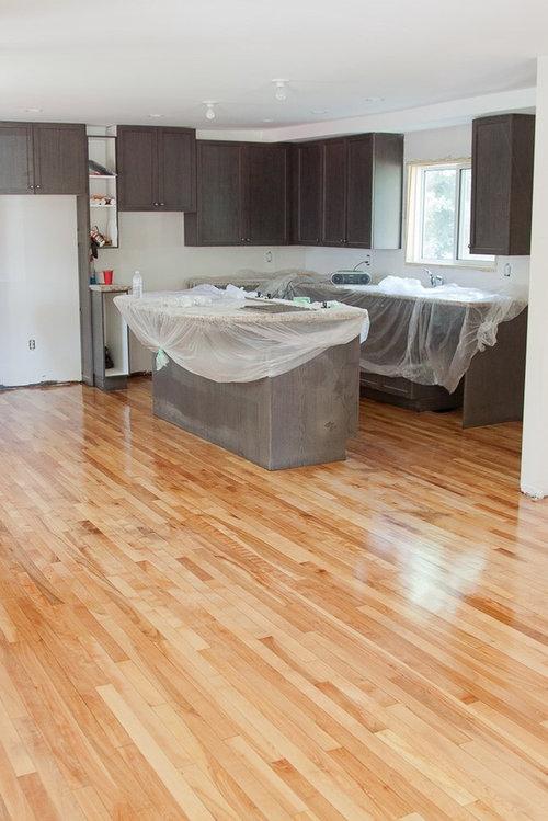 Wood Floors One Coat Of Poly