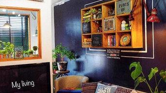 カーテンを変える手軽さで壁をかえてお洒落な空間を作ろう