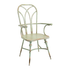 Imax Georgette Metal Arm Chair