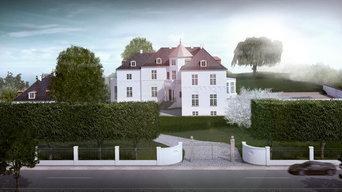 Luksus villa på Vedbæk Strandvej