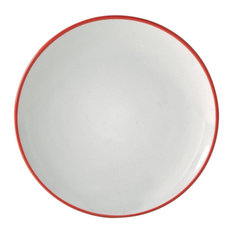 Price and Kensington Cosmos Side Plate, 20 cm, Red