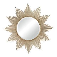 Sterling Churchfield Metal Frame Starburst Mirror 132-011